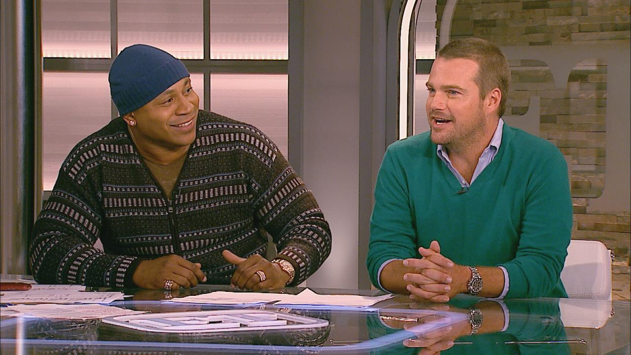 Ncis Los Angeles Stars Ll Cool J Amp Chris O Donnell