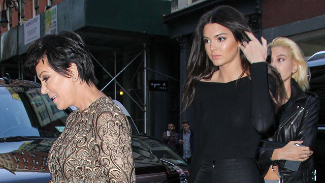Kris Jenner Suffers A Wardrobe Malfunction Flashes Butt
