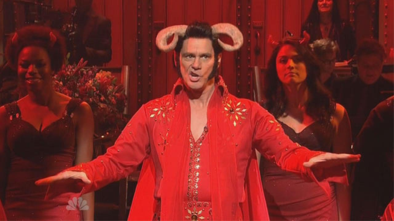 Jim Carrey Gets Super Weird To Host Best Episode Of 'SNL' This ...