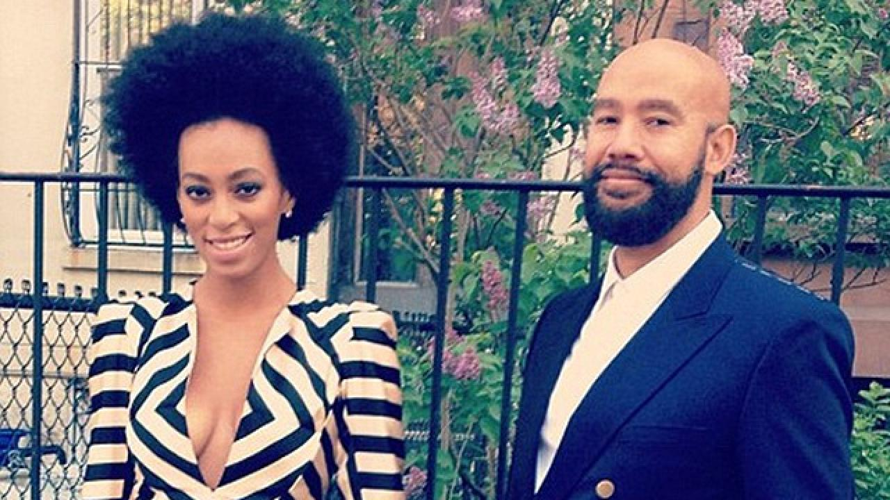 Solange Knowles Marries Alan Ferguson | Entertainment Tonight Beyonce Knowles Wedding Pictures