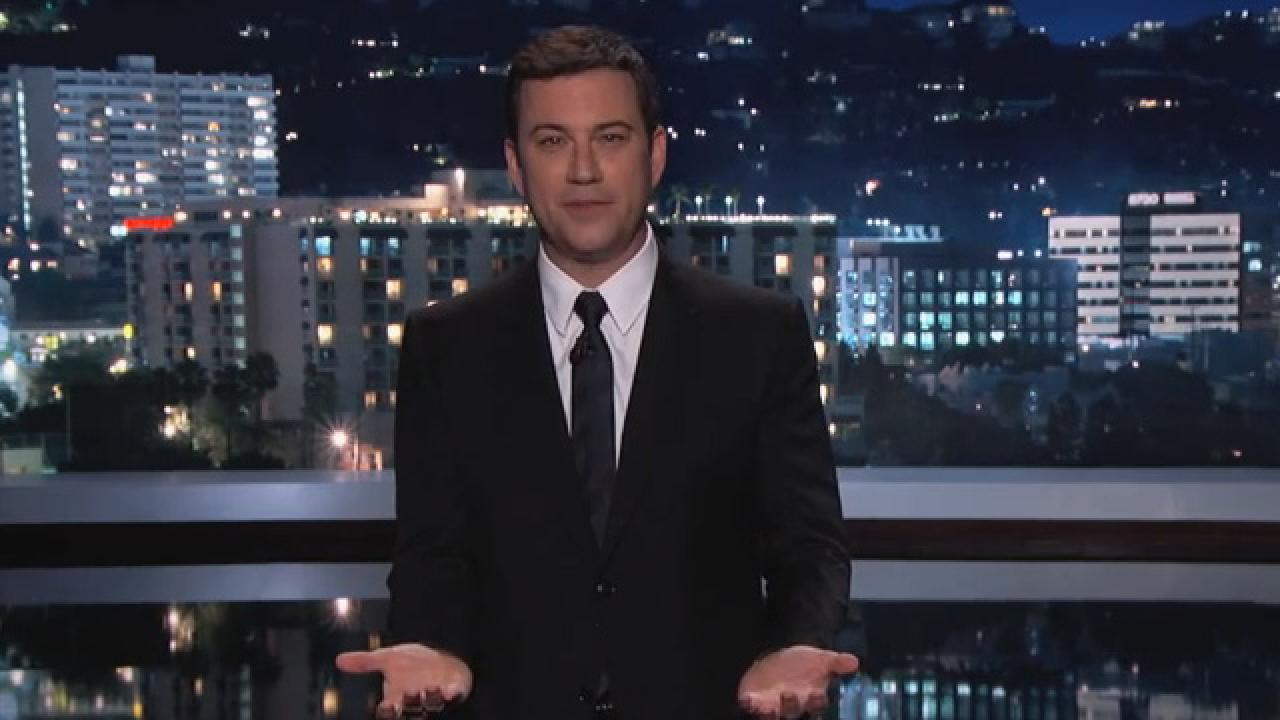 jimmy kimmel's 'i told my kids i ate all their halloween candy' is