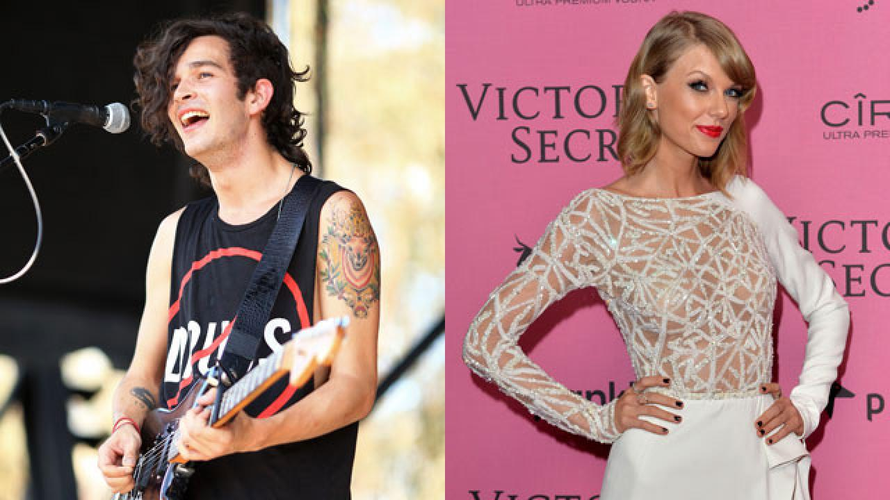 are taylor swift and matt healy dating