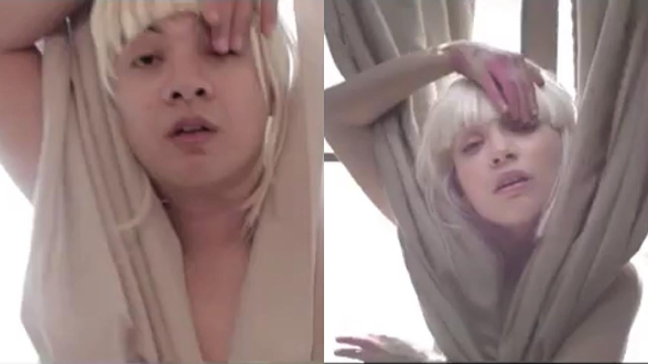 This guy lost a fantasy football bet and had to recreate sias this guy lost a fantasy football bet and had to recreate sias chandelier music video entertainment tonight arubaitofo Image collections