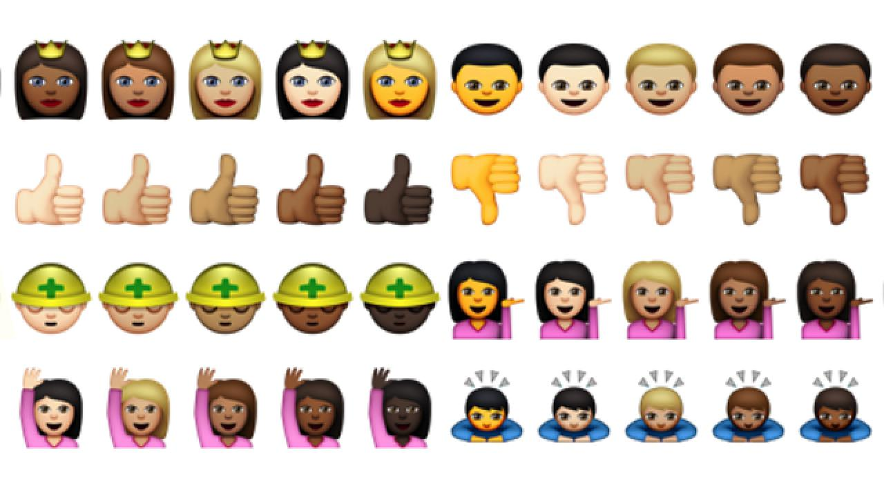 Apple Is Releasing New Racially Diverse Emojis But One Of