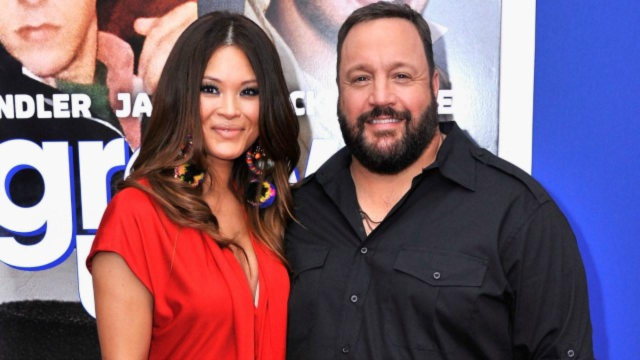 Kevin James and Wife S...