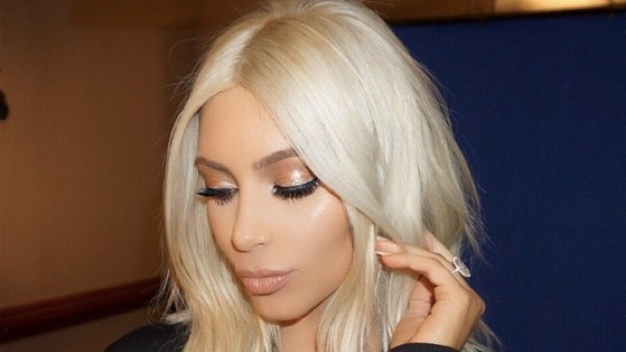 Kim Kardashian Goes Back To Brunette In Memoriam Of Her