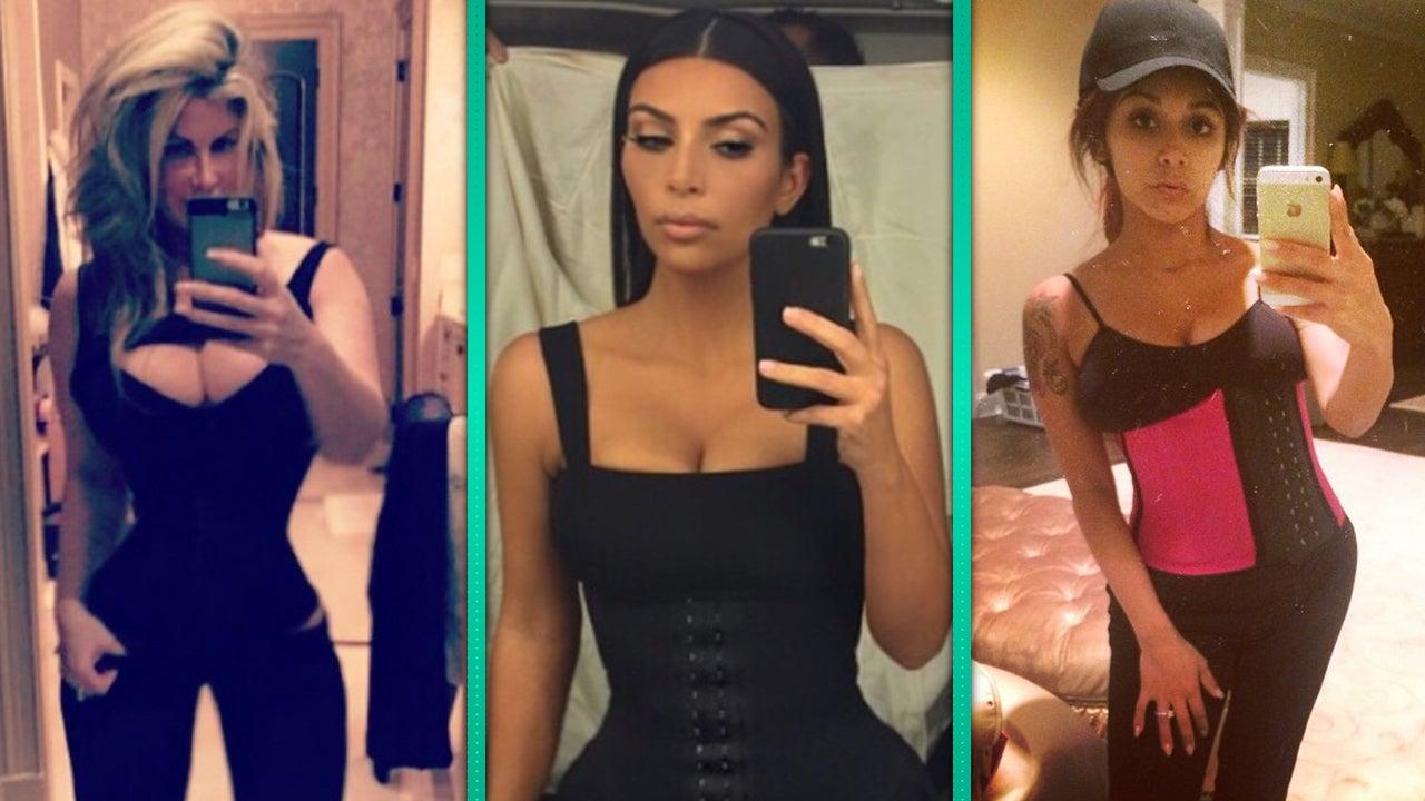 We Tried Kim Kardashian's Waist-Training Corset and This ...