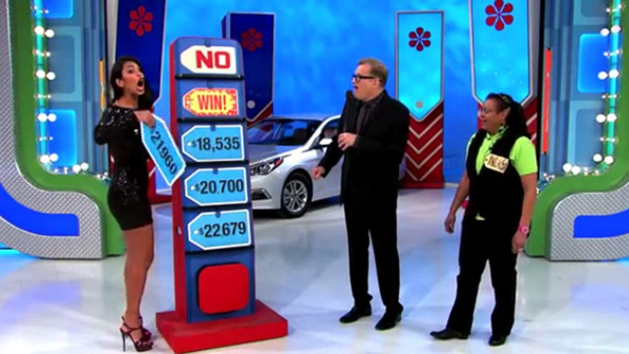 Price Is Right Model Accidentally Gives Away A Car To
