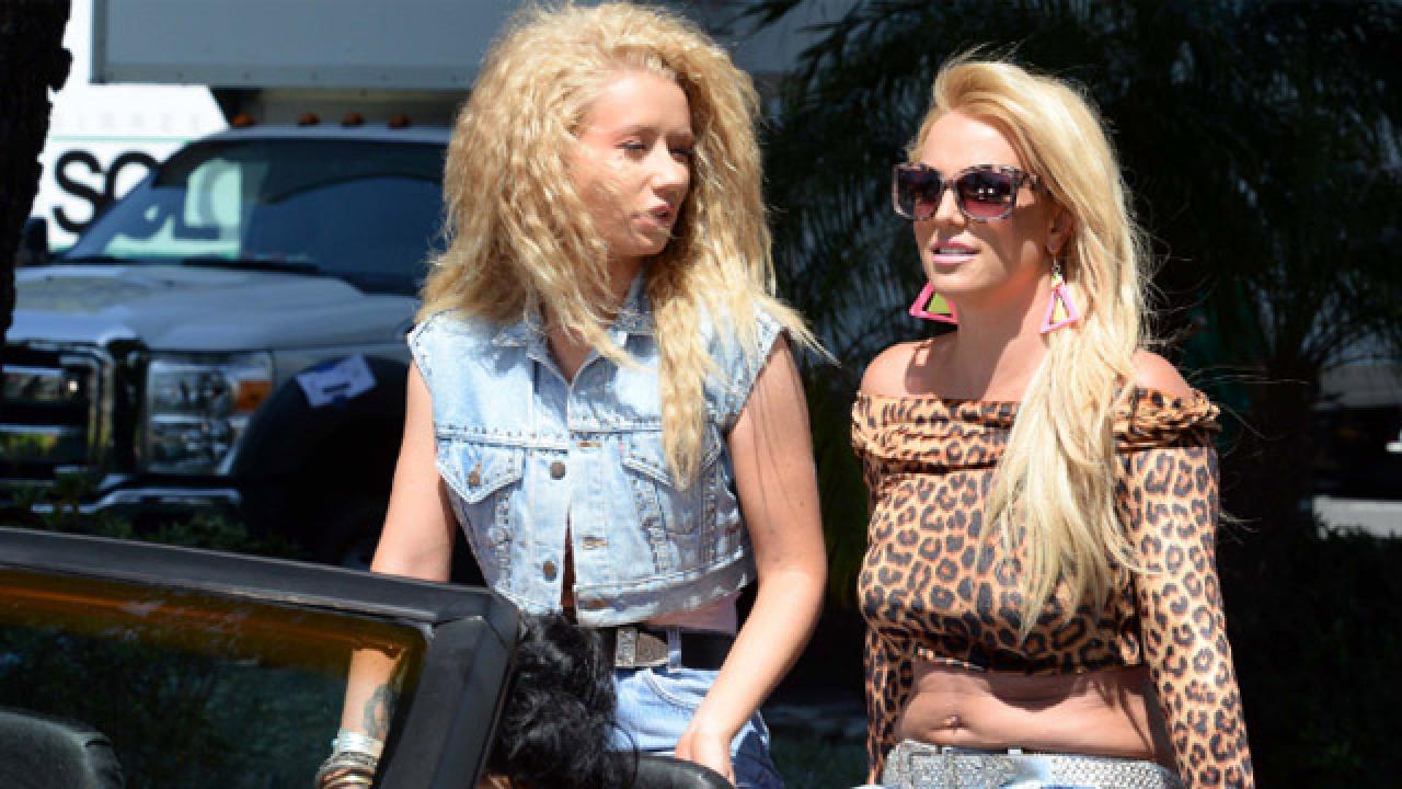 Britney Spears And Iggy Azalea S Song Pretty Girls