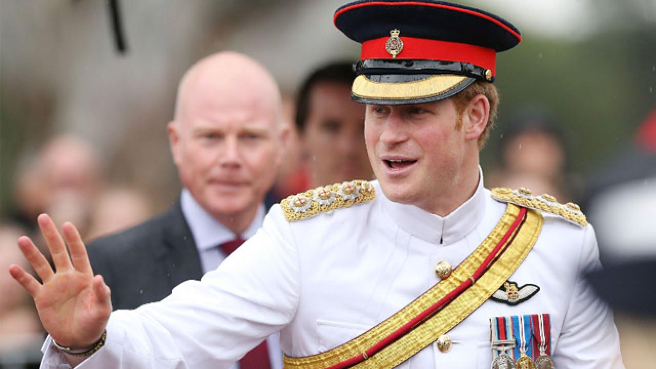 Selfie-Hating Prince Harry: Do Not Sully a Photo of Moi