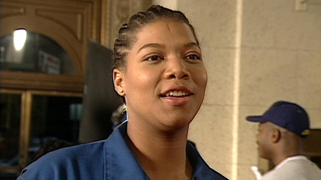FLASHBACK: On Set With Queen Latifah for Her First Film ...