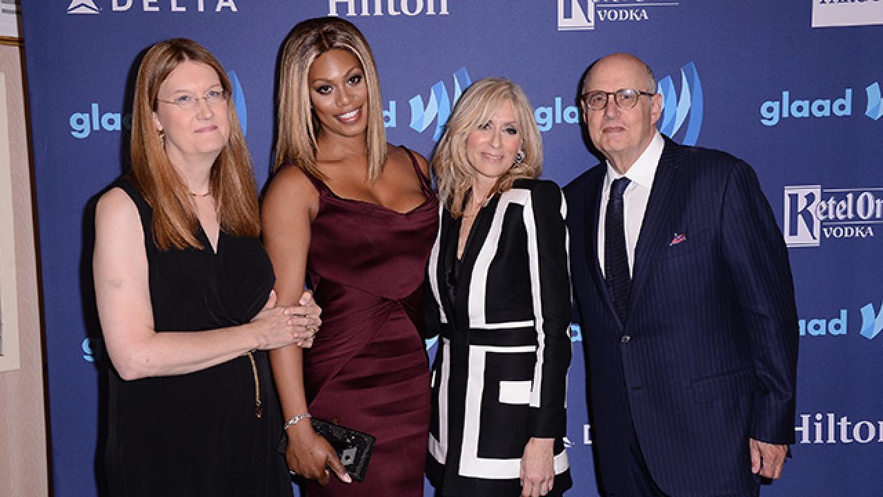 Kelly Ripa, Thomas Roberts Honored at GLAAD Media Awards in New York