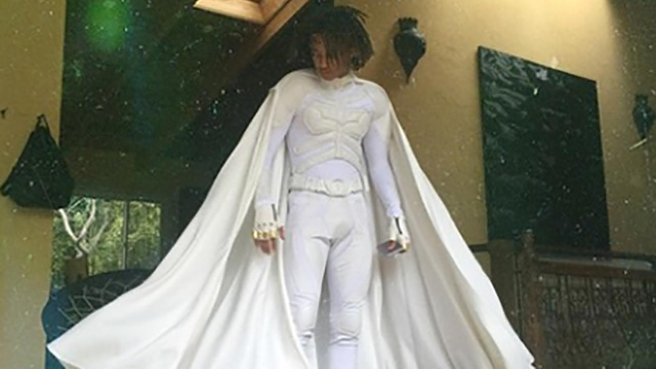 Jaden Smith Actually Went to Prom Dressed As Batman  Entertainment Tonight