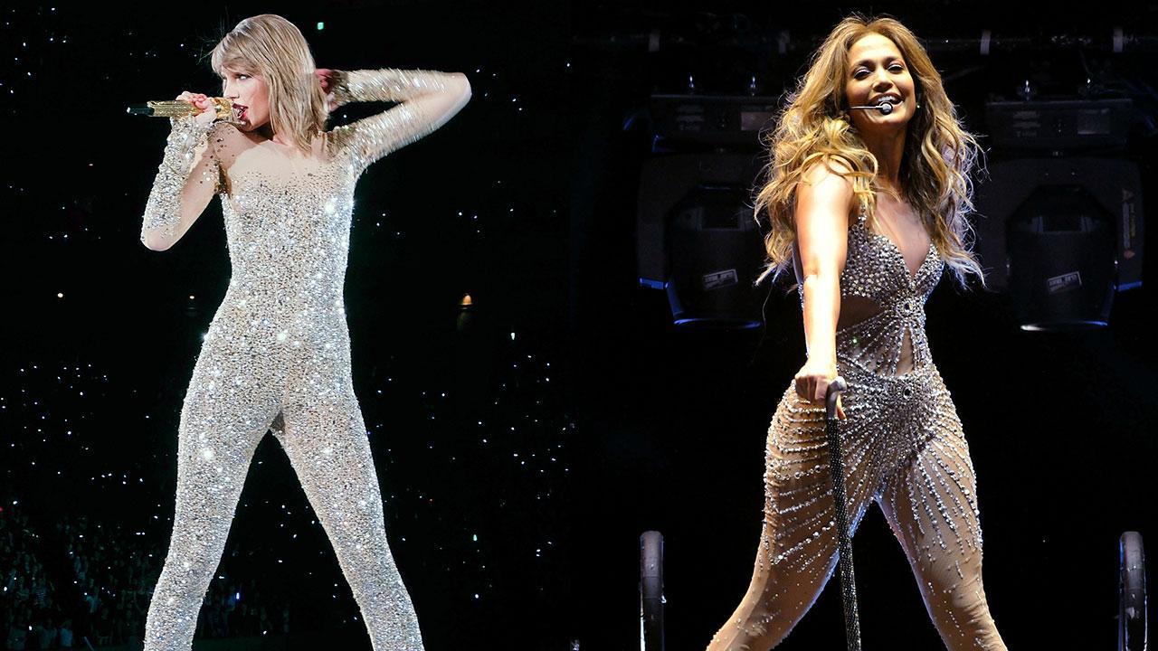 Taylor Swifts 1989 Tour Costumes Channel Jennifer Lopez