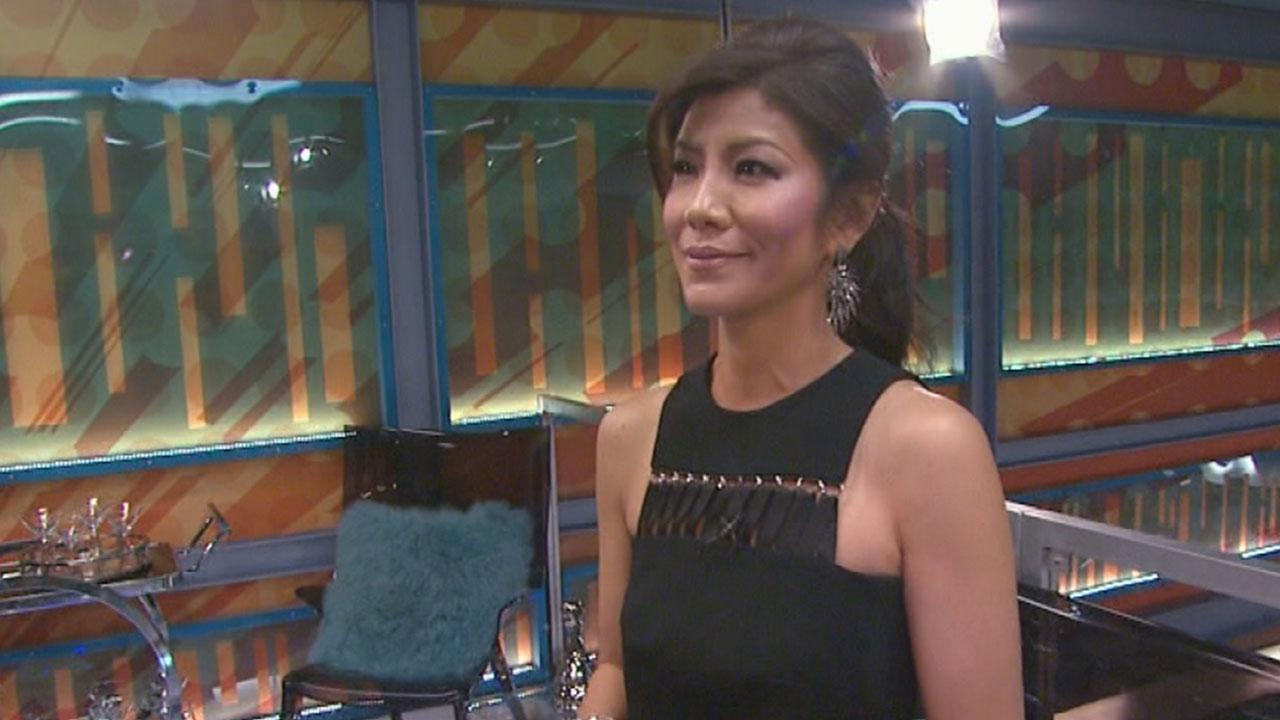 Julie Chen Tours The New Big Brother House