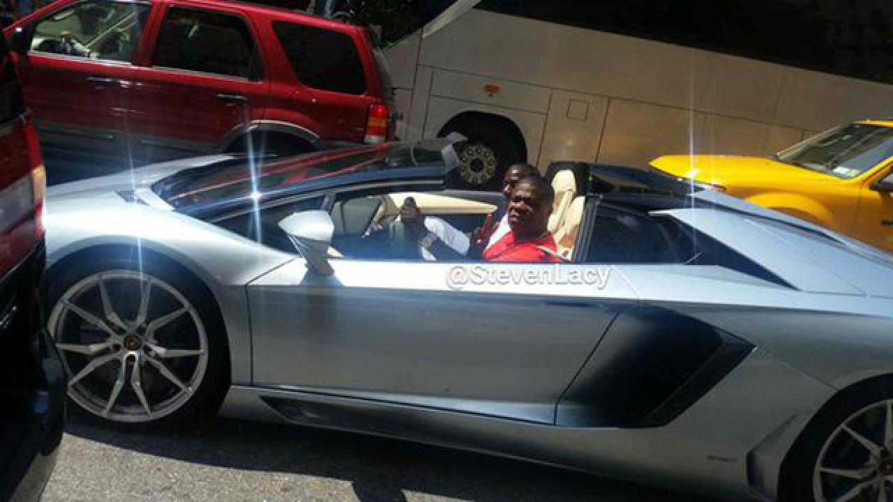 Tracy Morgan Spotted Driving A Lamborghini A Year After