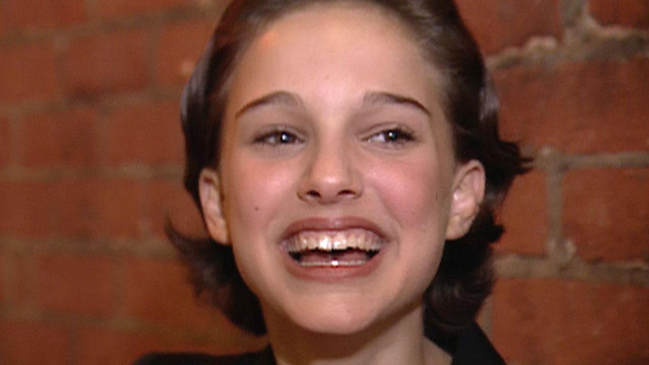 FLASHBACK: 13-Year-Old Natalie Portman Totally Had a Crush on Brad Pitt | Entertainment Tonight