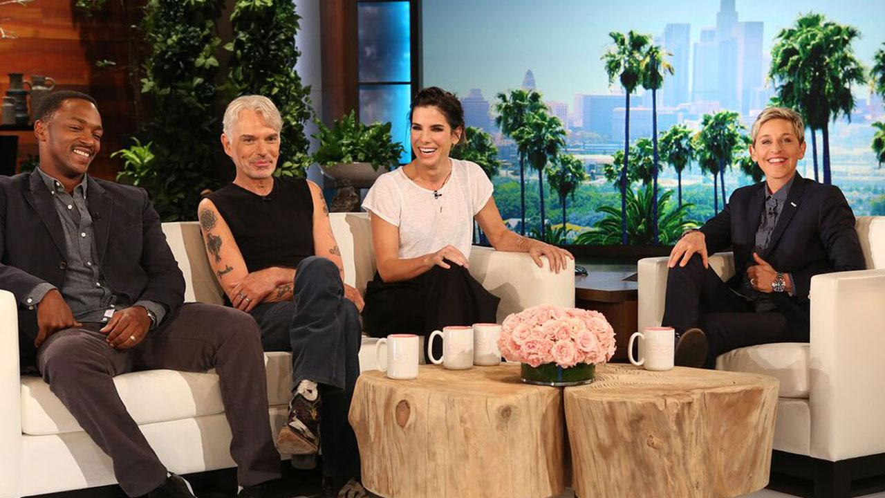 Sandra Bullock Says Flashing Her A In Our Brand Is