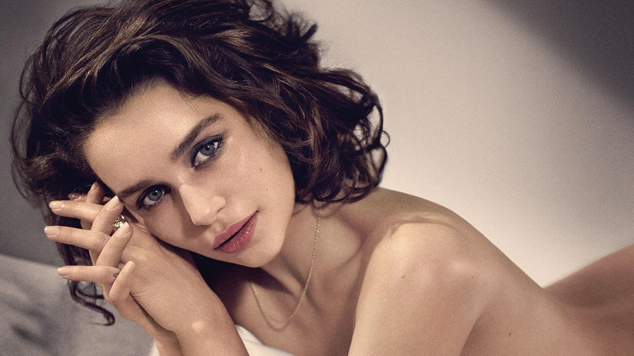 Emilia Clarke Poses Nude In Steamy Photoshoot