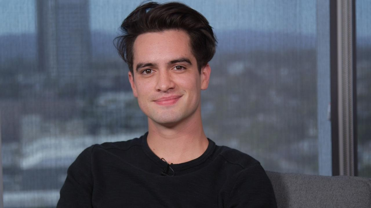 Exclusive Brendon Urie On How His Wife Inspired Panic At The Disco S New Album Title Death Of A Bachelor Entertainment Tonight