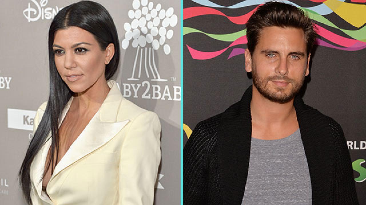Kourtney Kardashian and Scott Disick Take Their Kids to ...