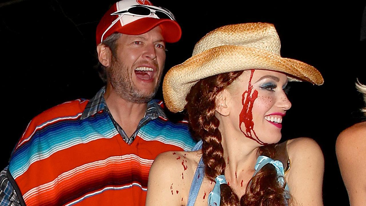 EXCLUSIVE: Blake Shelton and Gwen Stefani Can't Stop Smiling As ...