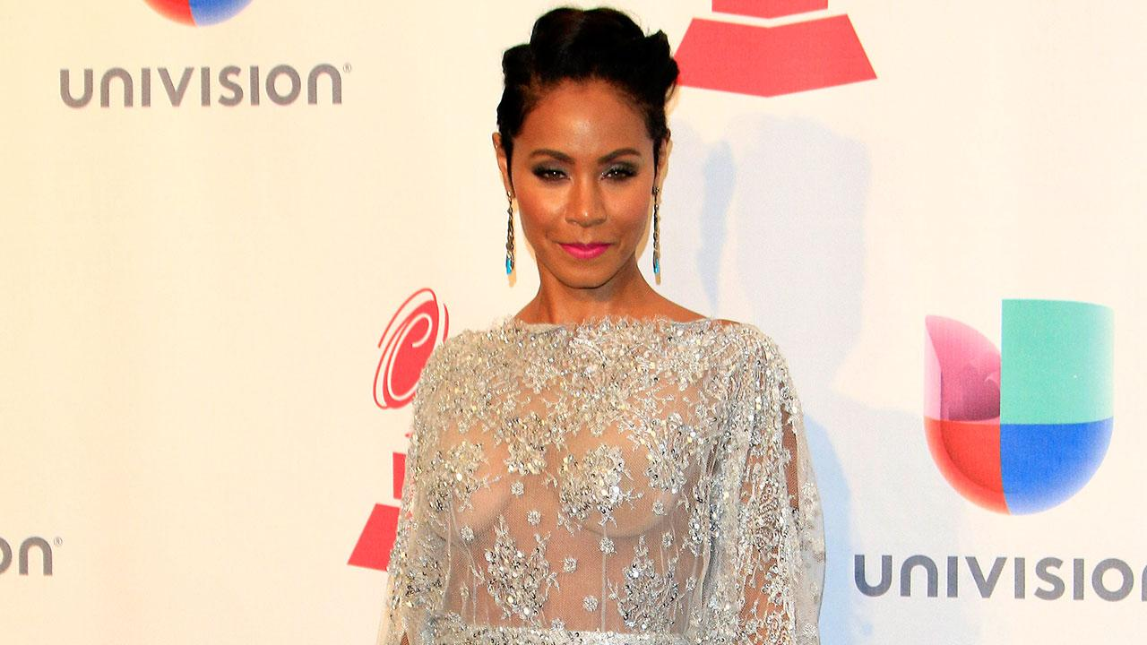 Jada Pinkett Smith Bares It All in See-Through Dress for Will Smith's Latin GRAMMYs Performance - See the Pics | Entertainment Tonight