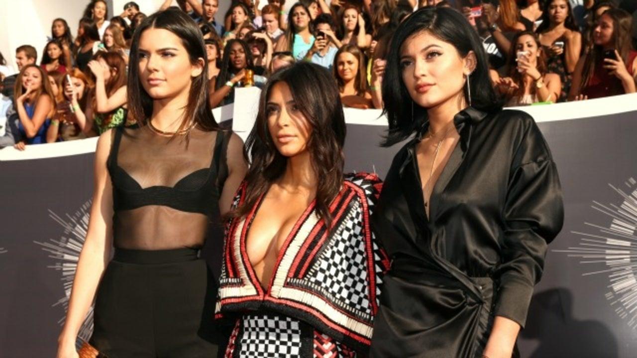 Teenage Kim Kardashian And Young Kylie And Kendall Jenner