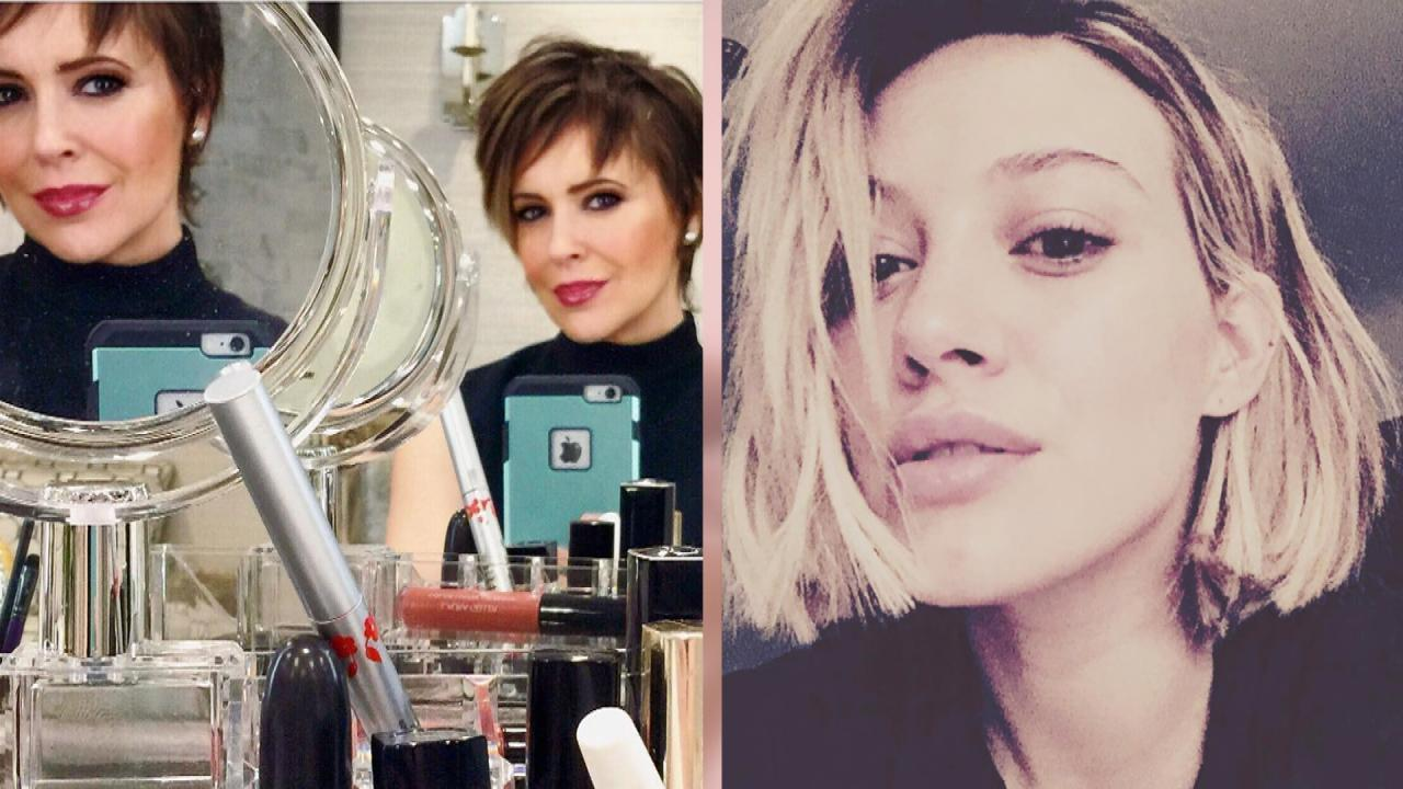 Alyssa Milano Chops Off Her Hair See The Beautiful New Pixie