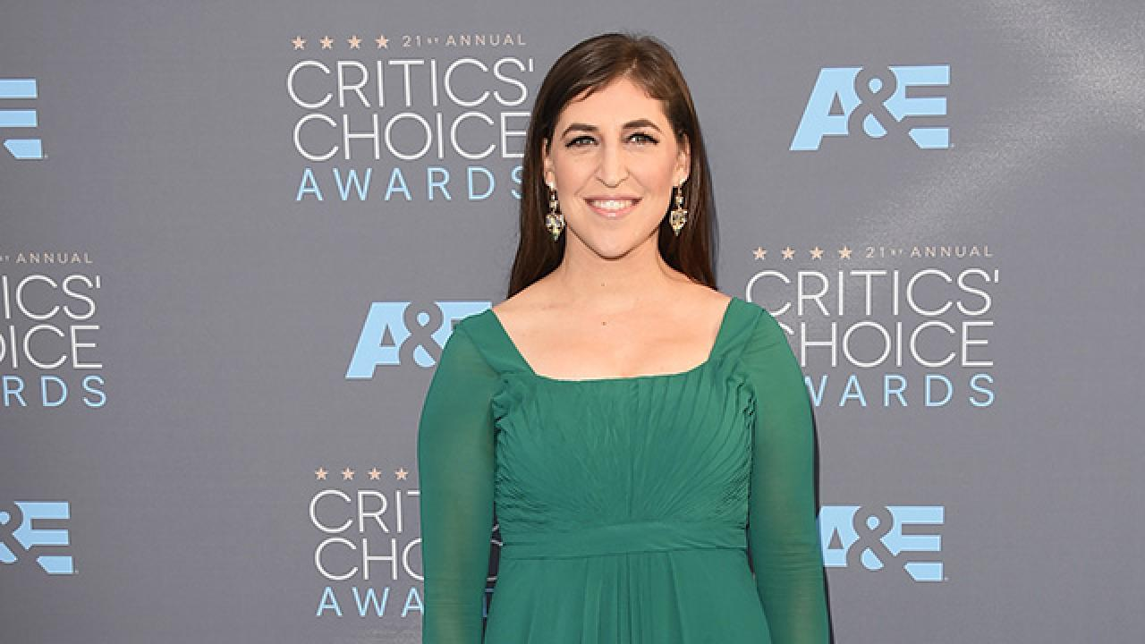 Mayim Bialik Says Getting Naked Is Not the Only Way to