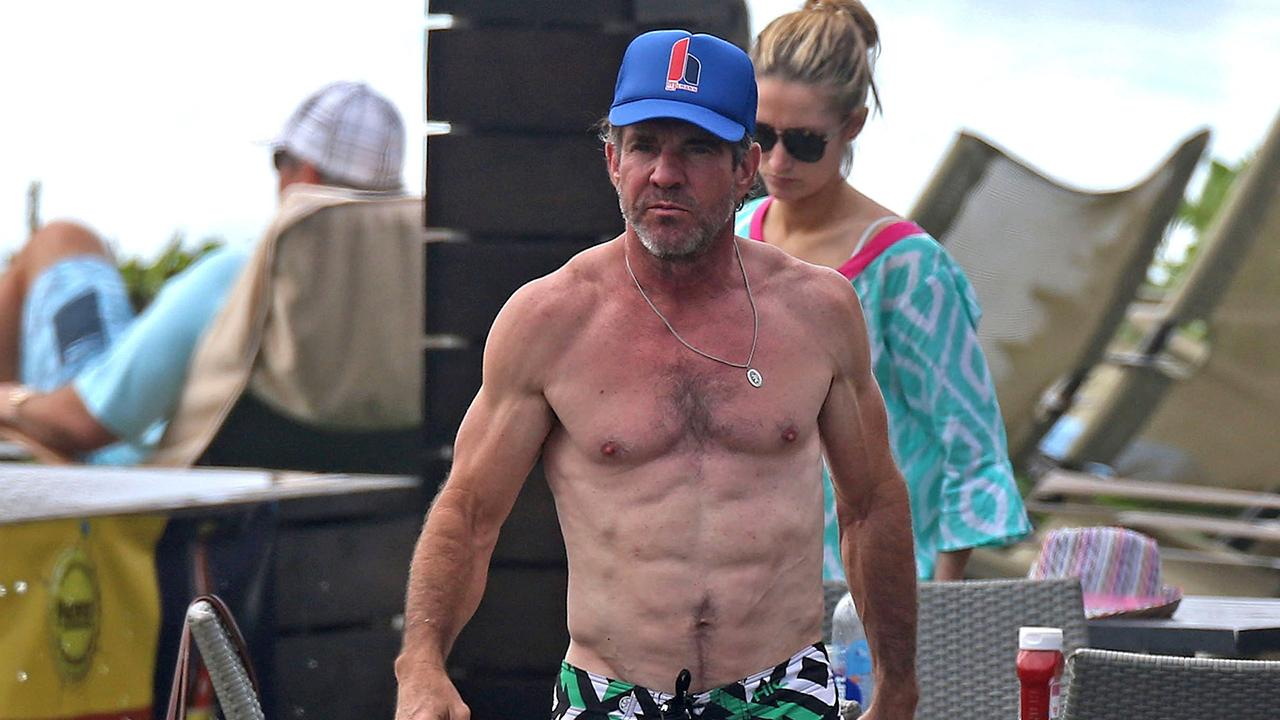 61 Year Old Dennis Quaid Shows Off Insanely Ripped Bod