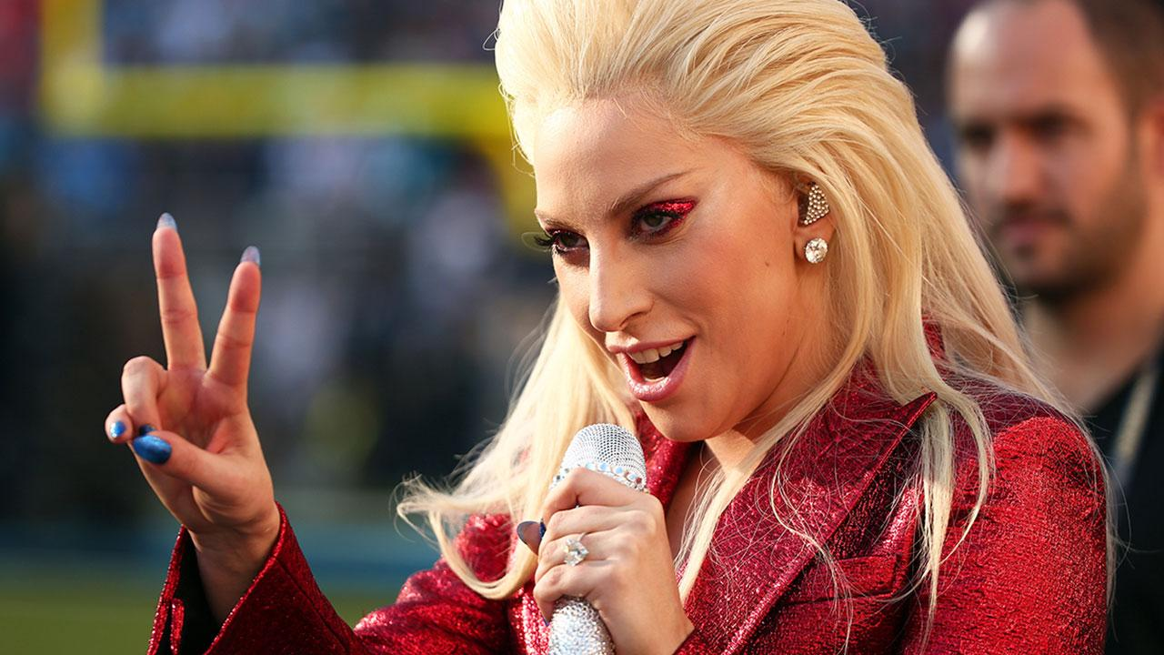 Lady Gaga Is Naked and Hungover in Post-Super Bowl