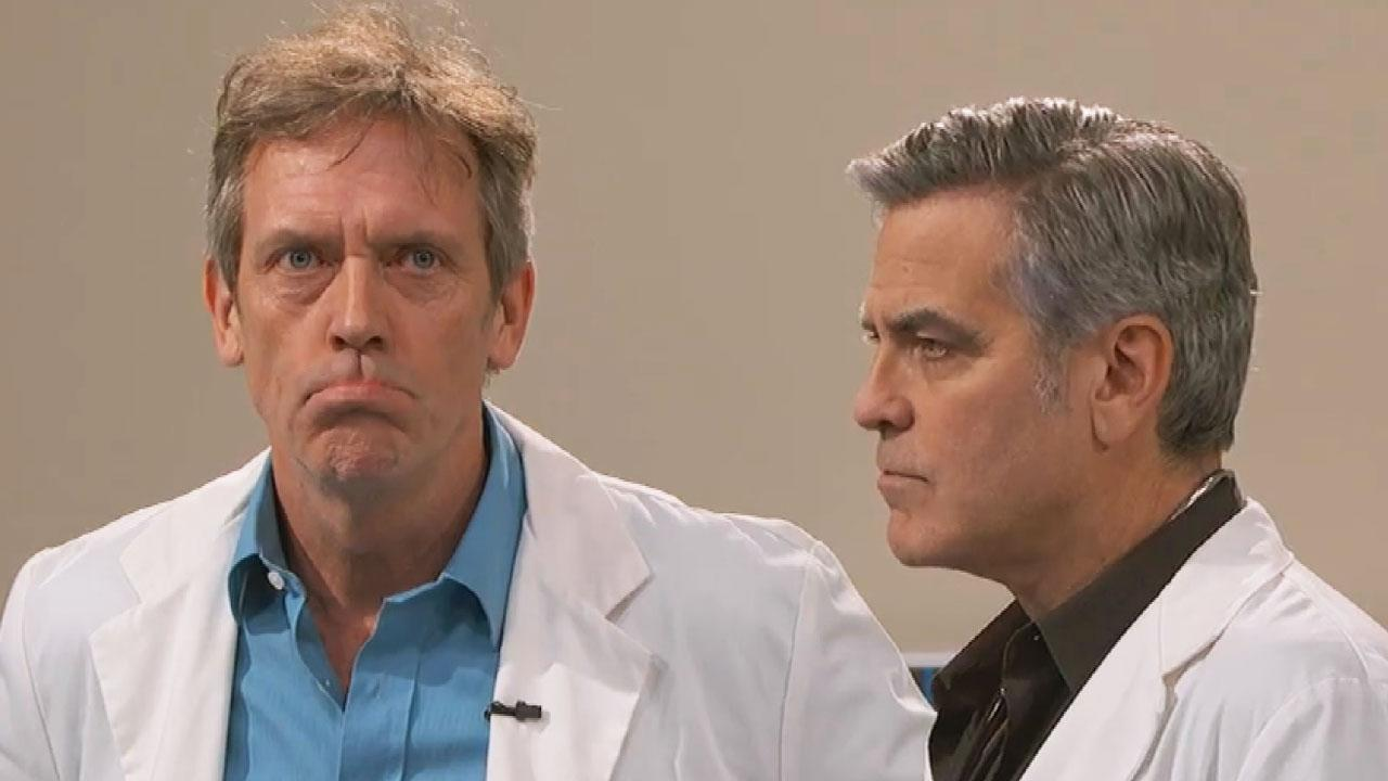 George Clooney and Hugh Laurie Reprise 'E.R.' and 'House ...