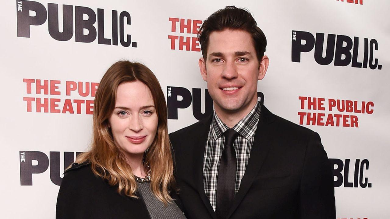 Emily Blunt Shows Off Baby Bump on the Red Carpet With ...