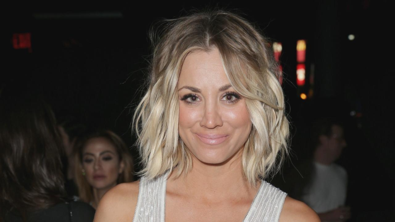 Kaley Cuoco Gets Extensions And Says Goodbye To Her Short