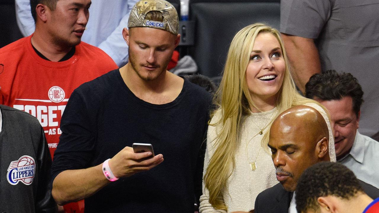 New Couple Alert Lindsey Vonn And Alexander Ludwig Are -3028