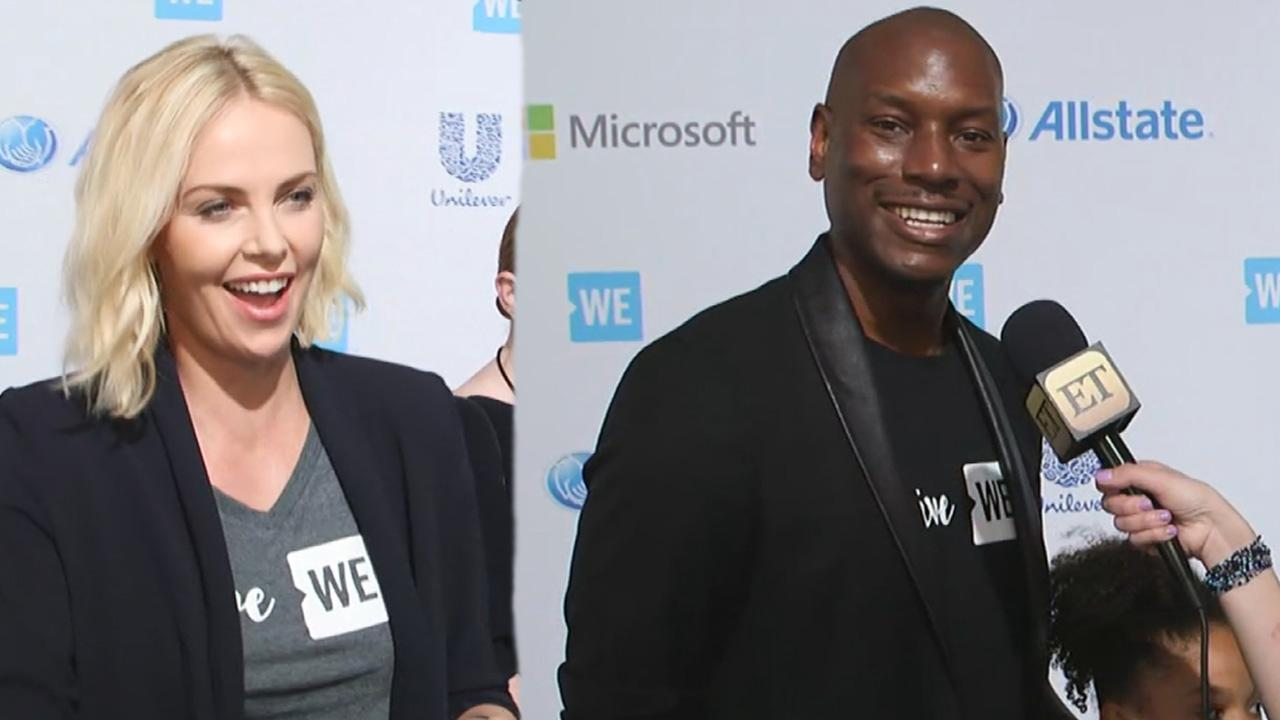 exclusive tyrese gibson 39 excited 39 charlize theron is joining 39 fast furious 8 39 cast 39 welcome. Black Bedroom Furniture Sets. Home Design Ideas