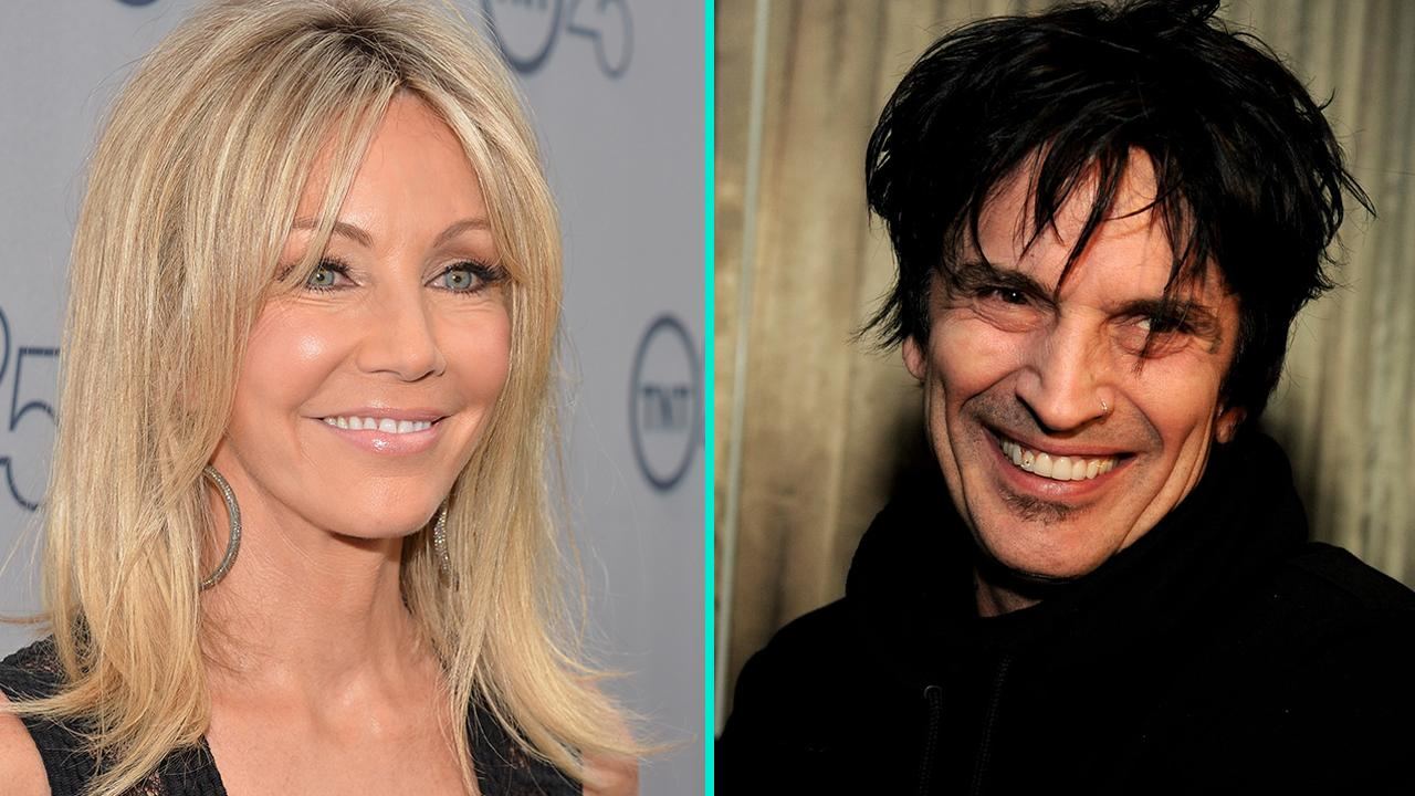 Sweet or Strange? Heather Locklear Wishes Ex Tommy Lee a ...