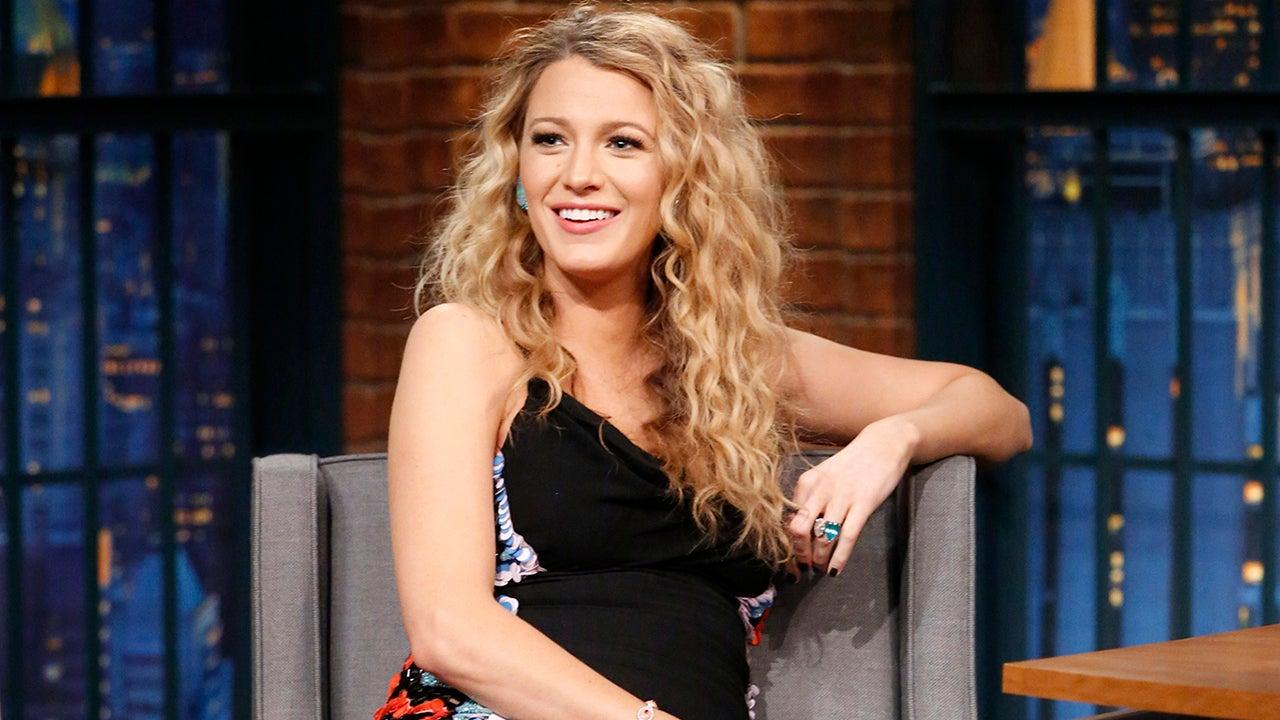 Blake Lively Serves Up Crimped Hair Goals Jokes Baby