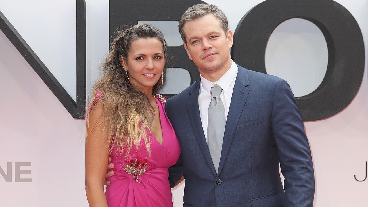 Matt Damon's Wife Luciana Barroso's Legs Steal the Show at ...