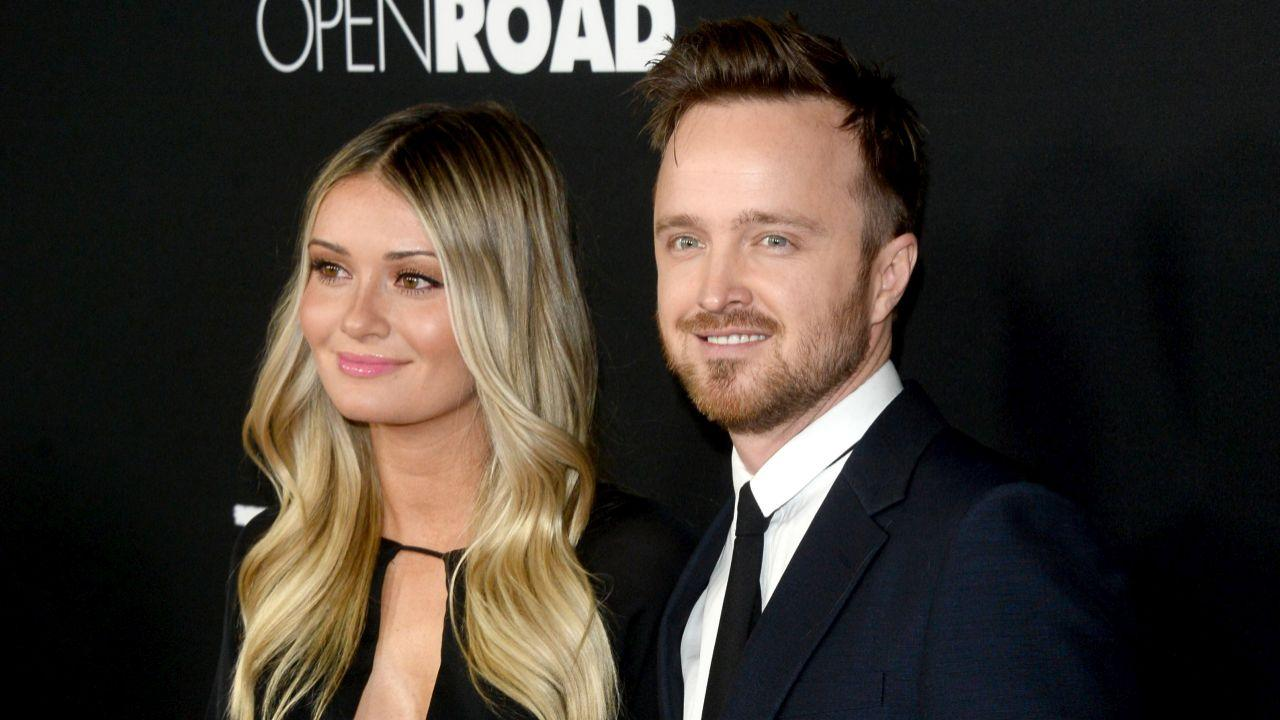 Aaron Paul Expecting First Child With Wife Lauren -- See the 'Beautiful' Announcement!