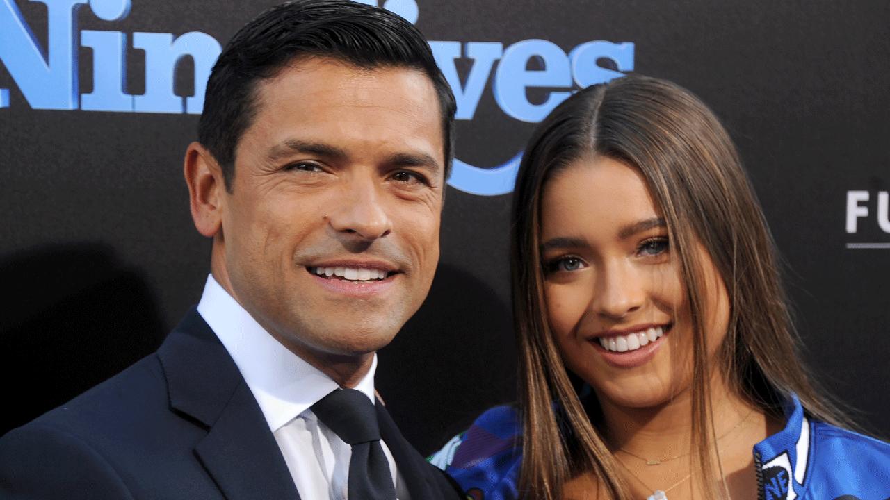 Exclusive Mark Consuelos Brings Daughter Lola To Nine