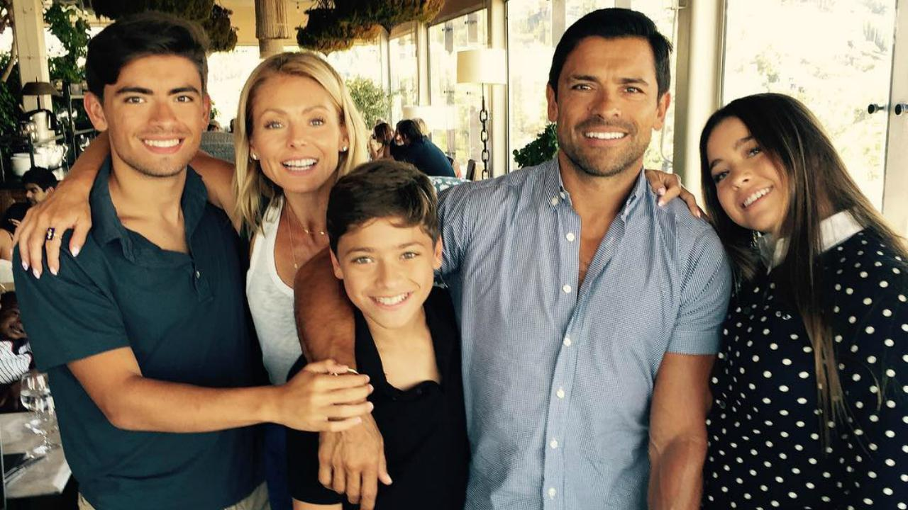 Mark Consuelos Kids Mark Consuelos on Livi...