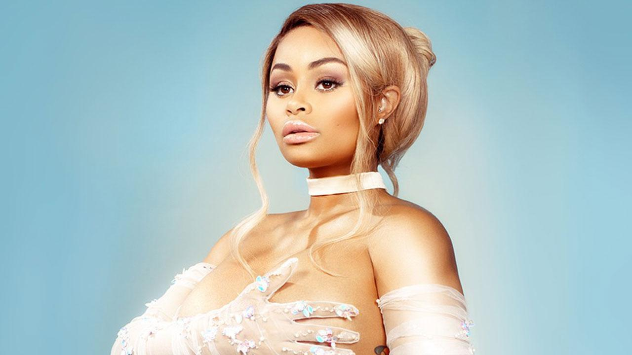 Pregnant Blac Chyna Poses Nude On The Cover Of Paper