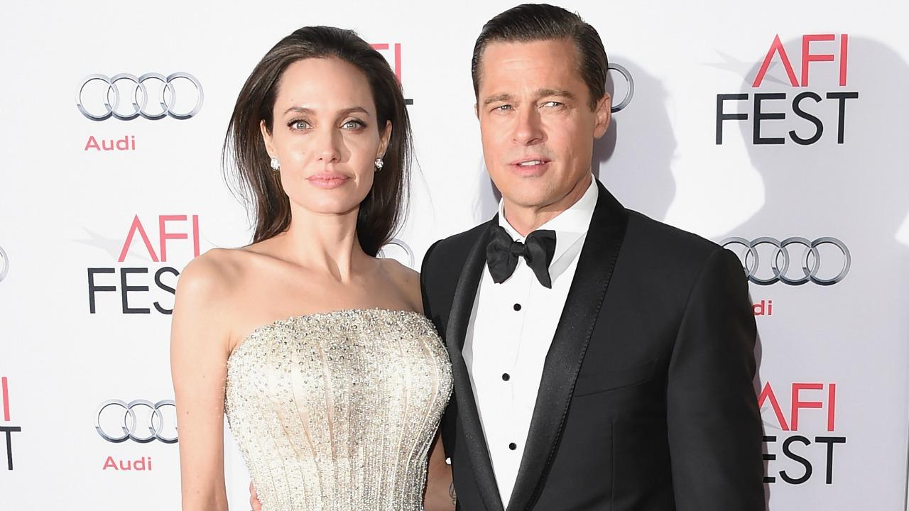 Angelina Jolie And Brad Pitt Have A Secret Meeting Call A Truce Two Years After Split Exclusive Entertainment Tonight