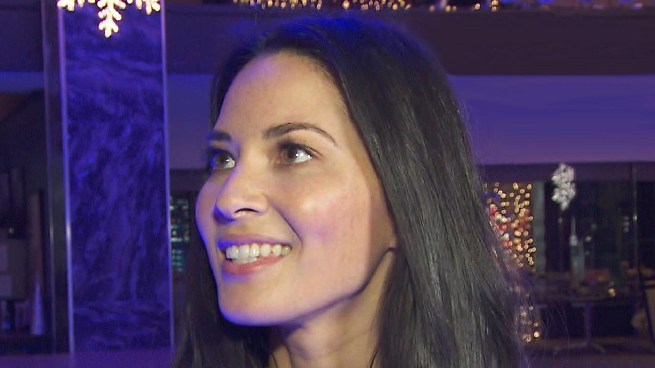 EXCLUSIVE: Olivia Munn Gives Behind-the-Scenes Tour of \'Office ...