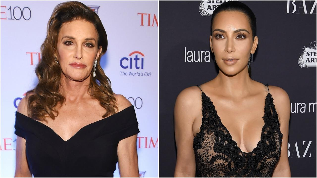 Kim Kardashian Posts Throwback Photo Of Caitlyn Jenner