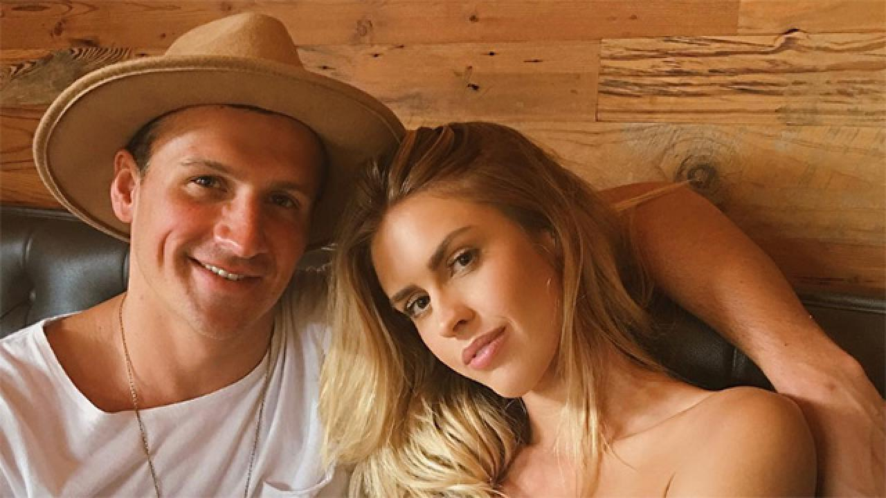 Ryan Lochte Reveals Baby S Sex Opens Up About Wedding Planning With Kayla Rae Reid Entertainment Tonight