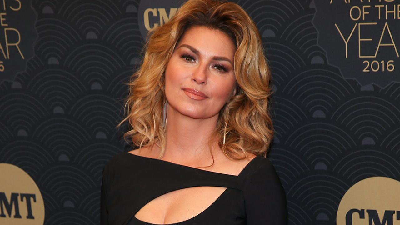 Shania Twain Reveals The Reason She Used Brad Pitt S Name In That Don T Impress Me Much Entertainment Tonight