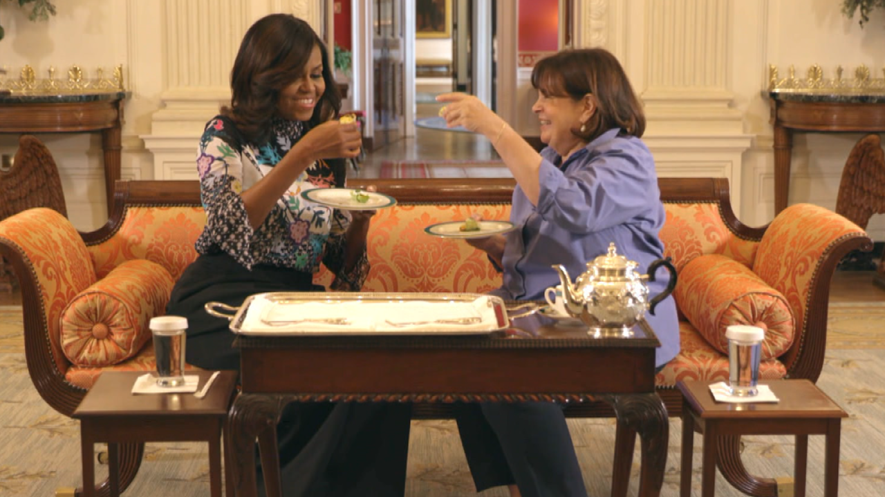 Michelle Obama And Ina Garten Can 39 T Stop Gushing Over Each